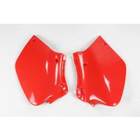UFO Side Panels Red (XR 00-06) for Honda XR250/400 96-20