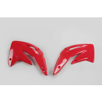 UFO Radiator Shrouds Red (00-18) for Honda CR85 03-20