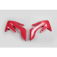 UFO Radiator Shrouds Red (00-18) for Honda CRF250R-RX 04-09/250X 04-17