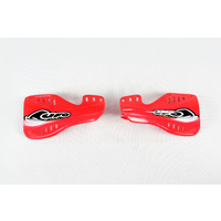UFO Handguards Red (00-18) for Honda CRF250/250X/450R 04-07