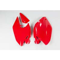 UFO Side Panels Red (00-18) for Honda CRF250X 04-17