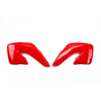 UFO Radiator Shrouds Red (00-18) for Honda CR125/250 00-01