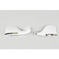 UFO Handguards White for Yamaha YZ 125/250 01-20/YZF 250/400/426 01-02/WRF 250/400/426 01-02
