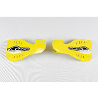 UFO Handguards Yellow (01-18) for Suzuki RM 125/250 05-20