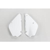 UFO Side Panels White for Suzuki RM 85 00-20