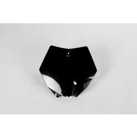 UFO Front Number Plate Black for KTM SX 85 13-17