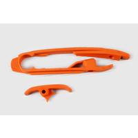 UFO Swingarm Chain Slider Orange (98-18) for KTM SX/SX-F 16-20 (no SX 250 2016)