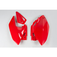 UFO Side Panels Red (00-18) for Honda CRF450X 05-16