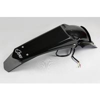 UFO Rear Fender w/LED Tailight Black for Yamaha WRF 450 12-15