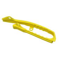 UFO Swingarm Chain Slider Yellow (01-19) for Suzuki RMZ 250 19-20/RMZ 450 18-20
