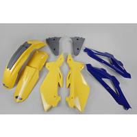 UFO Plastics Kit OEM Colours (2005) for Husqvarna TC 05-07