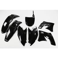 UFO Plastics Kit Black for Kawasaki KXF 250 10-11