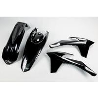 UFO Plastics Kit Black for KTM EXC/EXC-F 12-13