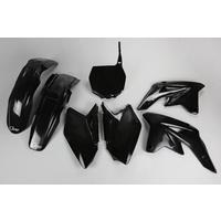 UFO Plastics Kit Black for Suzuki RMZ 250 2009