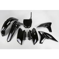 UFO Plastics Kit Black for Yamaha YZF 250 11-12