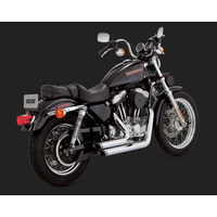 Vance & Hines V17223 Shortshots Staggered Exhaust for Sportster 99-03