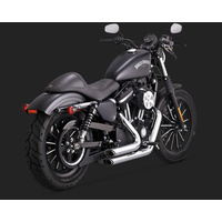 Vance & Hines V17229 Shortshots Staggered Exhaust Chrome for Sportster 14-15