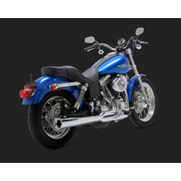 Vance & Hines V17523 Pro Pipe 2-1 HS Exhaust for Dyna 91-05