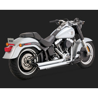 Vance & Hines V17939 Bigshots Staggered Exhaust for Softail 86-17 (Excludes Rocker/CVO 09 & FXSB/FXSE)