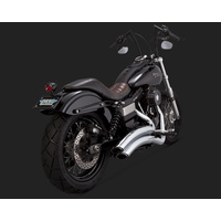 Vance & Hines V26053 Super Radius Exhaust for Dyna 06-15 (Excludes Switchback)