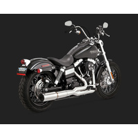 Vance & Hines V27523 Stainless Hi-Output 2-1 Exhaust for Dyna 06-15 (Excludes Switchback) - CC2E