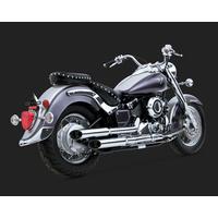 Vance & Hines V31503 Cruzers Mufflers Chrome for Yamaha V-Star 650 04-11