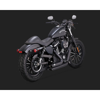 Vance & Hines V47229 Shortshots Staggered Exhaust Black for Sportster 14-15
