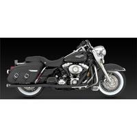 Vance & Hines V47925 Bigshots Duals Exhaust Black for Touring 07-08 - CC2E