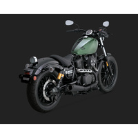 Vance & Hines V48533 Competition Series Slip-On Muffler Black for Yamaha Bolt/R-Spec 950 13-14