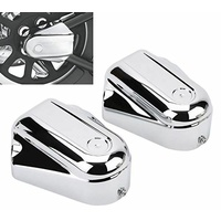 Axle Cover Kit High Quality ABS Plastic Softail Models 08-17 Heritage Classic Deluxe Chrome
