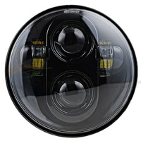 Headlight 45w Daymarker Style Black Face New Style Suit Most H-D, Street 500 & Indian Scout Models + Some Triumph Models+ Ext Warranty