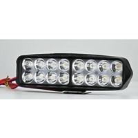 Universal Headlight Spot Light Bar 48w / 4500lm 16 LED Lamps