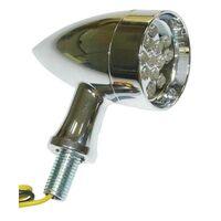 Marker Light Black Bullet style with Amber lens 20 LED Mesh Grille Bullet Cover 3 Wires