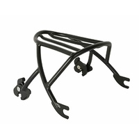 Luggage Rack Quick Release (inc Hardware) Black Fits Sportster Models 1200 & 883 2004-up