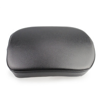 Pillion Pad Black 8 Suction Cup Custom Use All Models size 260mm x 175mm x 55mm
