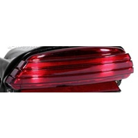 Taillight Only Tri-bar Style Brake Light with Red Len Softail Models 07-up w/200 Tyre & Dyna Fxdf 08-up Fits Harley Davidson