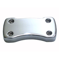 Wild 1 WO537 Risers Top Clamp Use on FXSTD & FLSTN Only Chrome