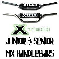 XTECH SENIOR MX HANDLEBAR LOW STYLE TITANIUM T6-6061 ALUMINIUM - AUSSIE SELLER