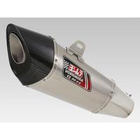 Yoshimura R-11/Street Series Sports Stainless Full Exhaust System w/Satin Finish Sleeve for Suzuki Katana 19Up