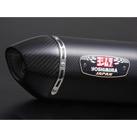 Yoshimura R-77J/Euro3 Stainless Slip-On Muffler w/Metal Magic Sleeve for Suzuki GSR750 11-16