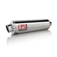 Yoshimura Race Series RS-3 Stainless Bolt-On Muffler w/Stainless Sleeve/Aluminum End Cap for Suzuki GSX-R1000 01-04 750/600 01-03