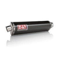 Yoshimura Street Series TRS Stainless Bolt-On Muffler w/Carbon Sleeve/Stainless End Cap for Suzuki GSX-R1000 01-04 750/600 01-03