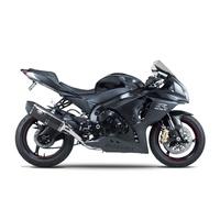 Yoshimura Race Series R-77 Stainless Slip-On Muffler w/Carbon Sleeve/Carbon End Cap for Suzuki GSX-R1000 12-16