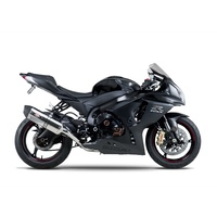 Yoshimura Race Series R-77 Stainless Slip-On Muffler w/Stainless Sleeve/Carbon End Cap for Suzuki GSX-R1000 12-16