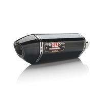 Yoshimura Race Series R-77 Stainless Slip-On Muffler w/Carbon Sleeve/Carbon End Cap for Suzuki GSX-R1000 09-11