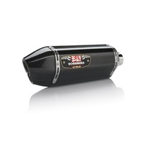 Yoshimura Race Series R-77D Stainless Full Exhaust System w/Carbon Sleeve/Carbon End Cap for Suzuki GSX-R600/750 11-20