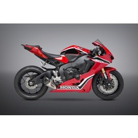 Yoshimura Race Series Alpha T Stainless Full Exhaust System w/Stainless Sleeve/Carbon End Cap for Honda CBR1000RR/SP/SP2 17-19
