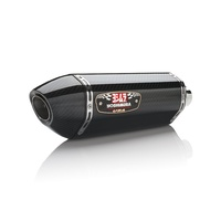 Yoshimura Race Series R-77 Stainless Full Exhaust System w/Carbon Sleeve/Carbon End Cap for Yamaha FZ/MT-07/XSR700 15-20