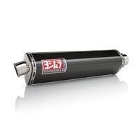 Yoshimura Street Series TRS Carbon Bolt-On Muffler w/Stainless End Cap for Kawasaki Ninja ZX-10R 04-05