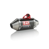 Yoshimura Enduro Series RS-2 Titanium Full Exhaust System w/Carbon Sleeve/Stainless End Cap for Honda CRF50F 04-19/XR50 00-03